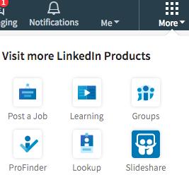 LinkedIn-Groups-Menu