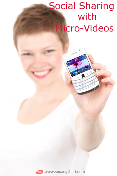 social sharing with micro-videos