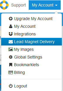 LeadPages my account