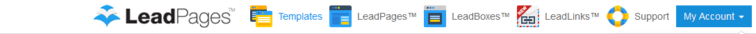 Top LeadPages Bar