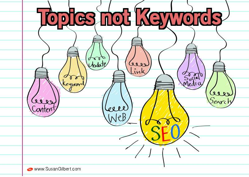 Topics Not Keywords = The Future of SEO