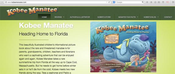 Kobee-Manatee-Website