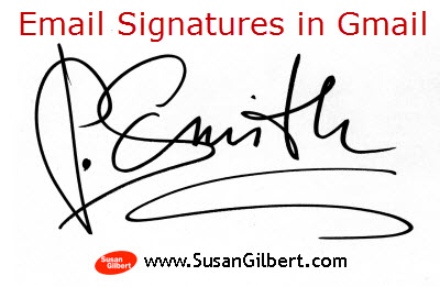 video how to create signature in gmail