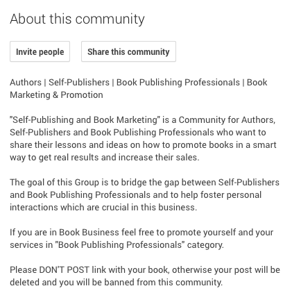 GooglePlus-Community-Rules