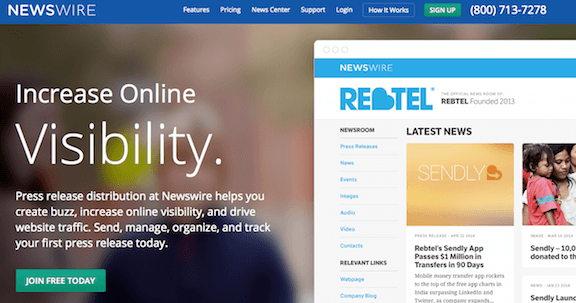 Improve Your Online Reach Via Press Releases  - Newswire