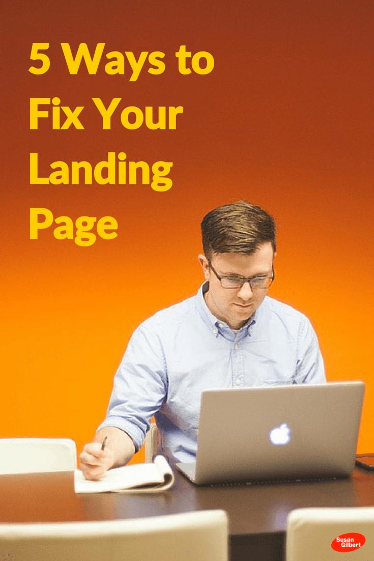 landing page fix