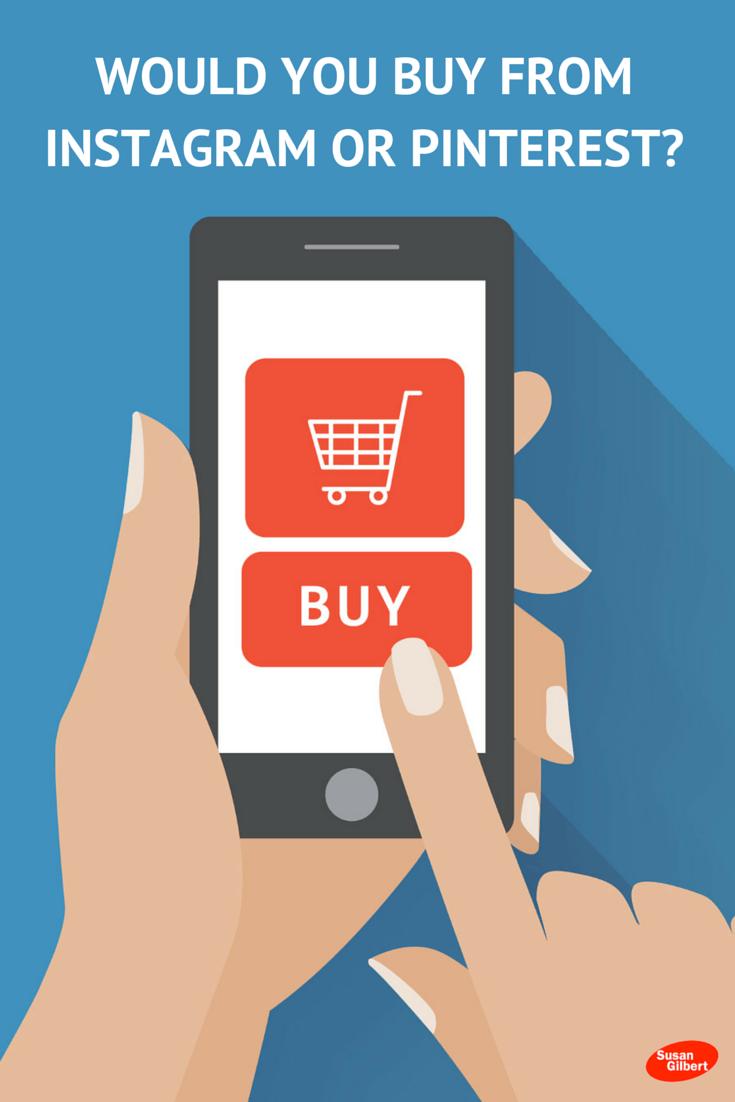 Instagram Pinterest Skyyamazin: Would You Buy From Instagram Or Pinterest?