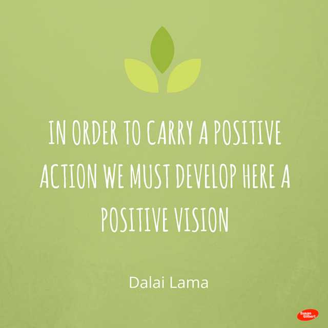 Positive Vision + Positive Action are the First Steps to any Successful Marketing Plan
