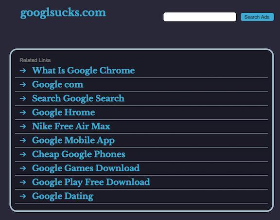 Spam-website