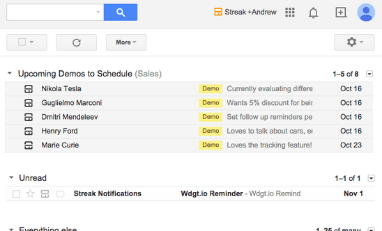 Use Gmail to run your business - Streak