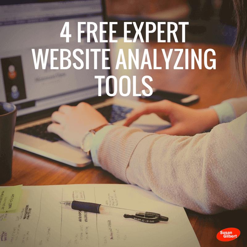 4 Free Expert Website Analyzing Tools
