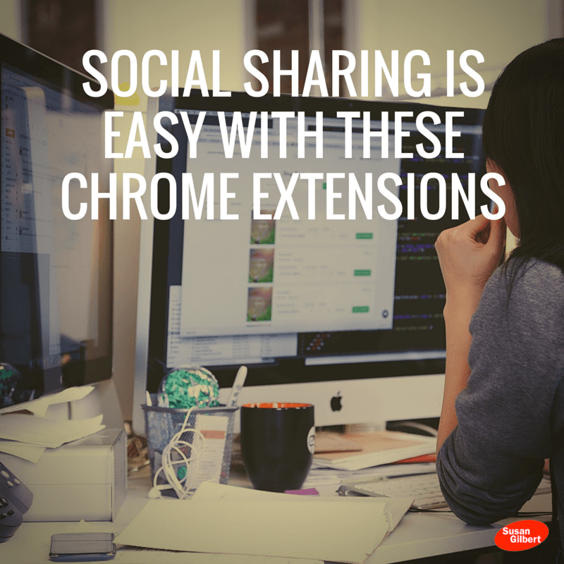 Social Sharing is Easy with These Chrome Extensions