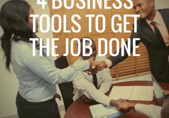 4 Business Tools to Get the Job Done SusanGilbert.com