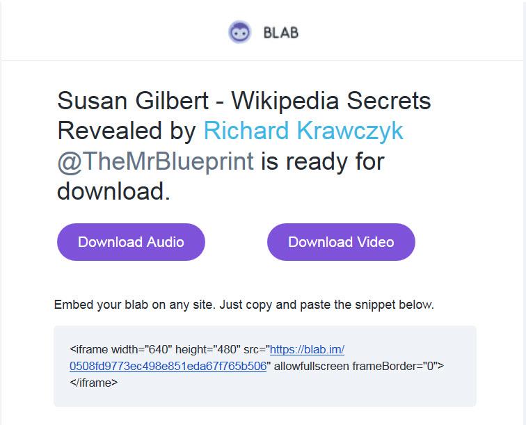 Blab email