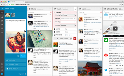 Start tweeting like a pro: TweetDeck