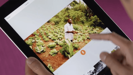 Turn your story into video - Adobe Voice