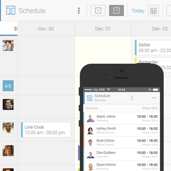 Employee Management in an app - Humanity