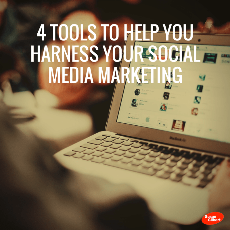 4 Tools to Help You Harness Your Social Media Marketing