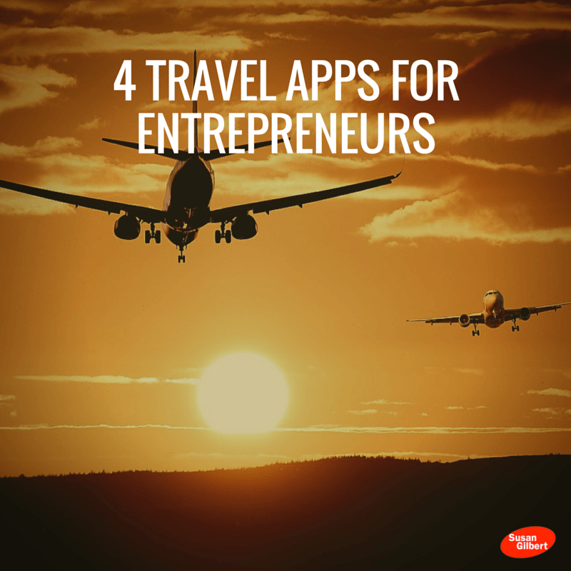 4 Travel Apps For Entrepreneurs