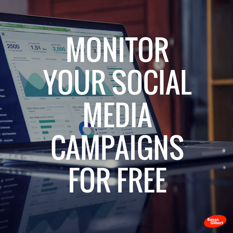 Monitor Your Social Media Campaigns for Free