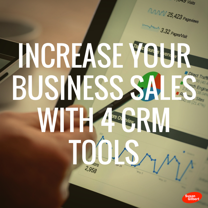 4 Business CRM Tools You Can Use to Increase Your Sales