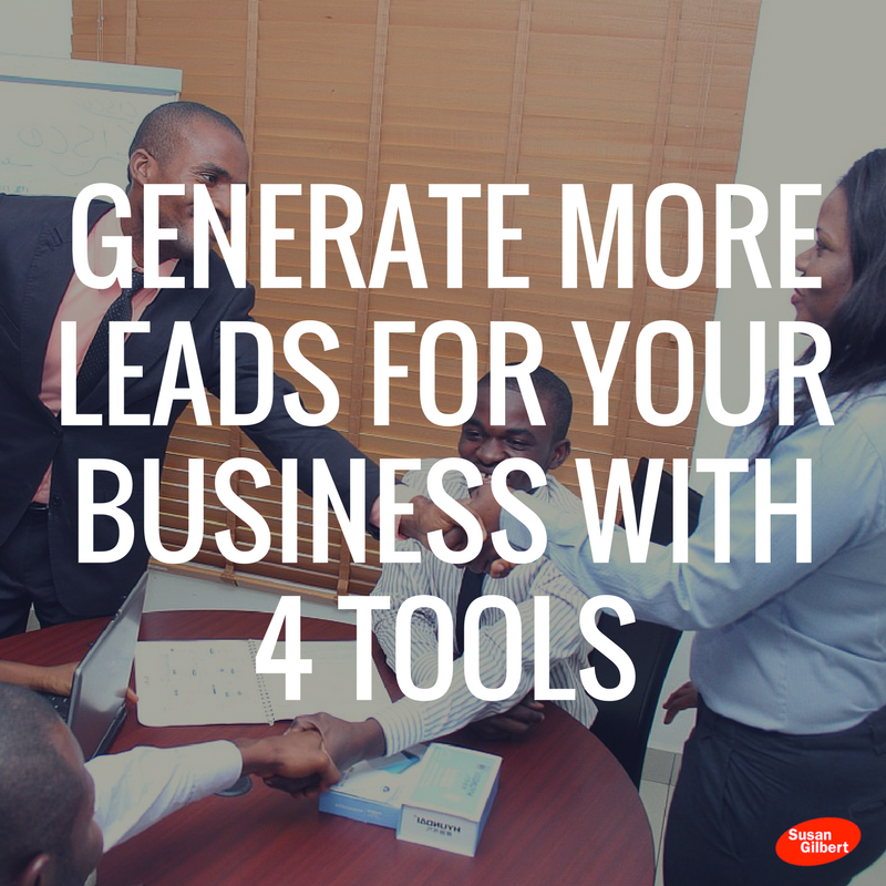 Generate More Leads for Your Business with 4 Business Tools