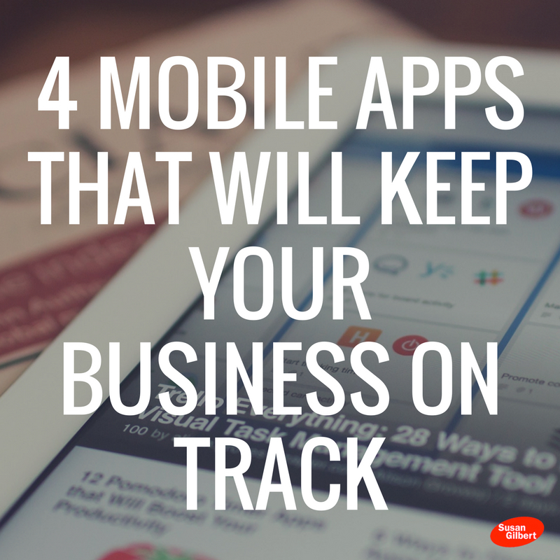 4 Mobile Business Productivity Apps That Will Keep You on Track