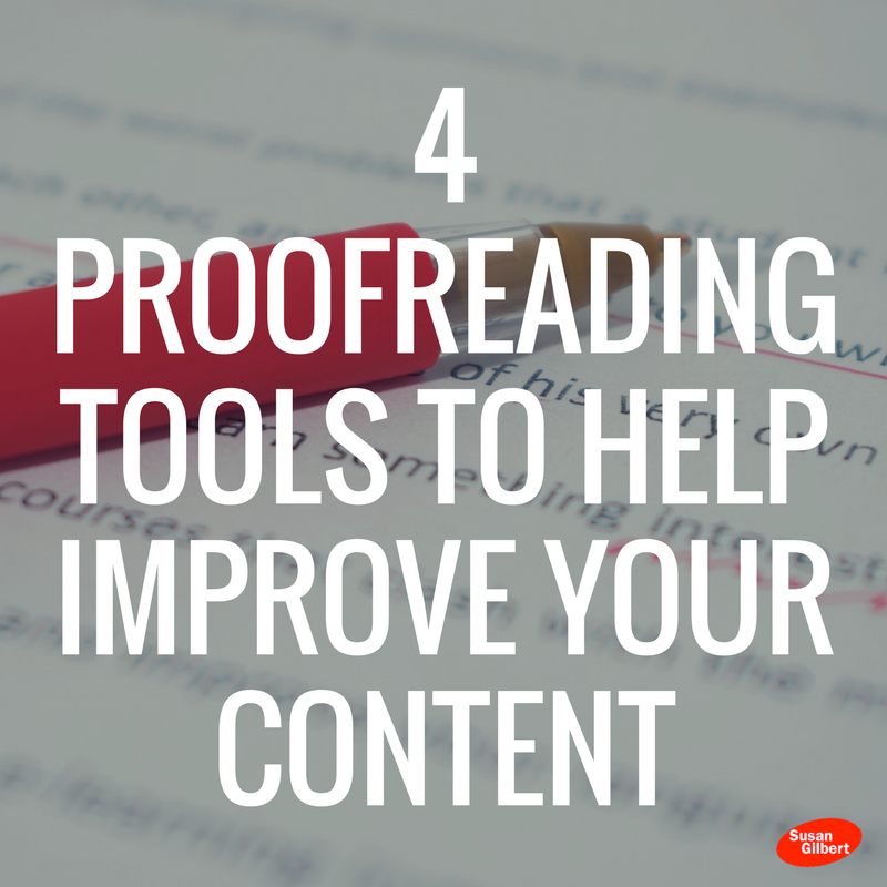 Improve Your Content Strategy with These 4 Proofreading Tools