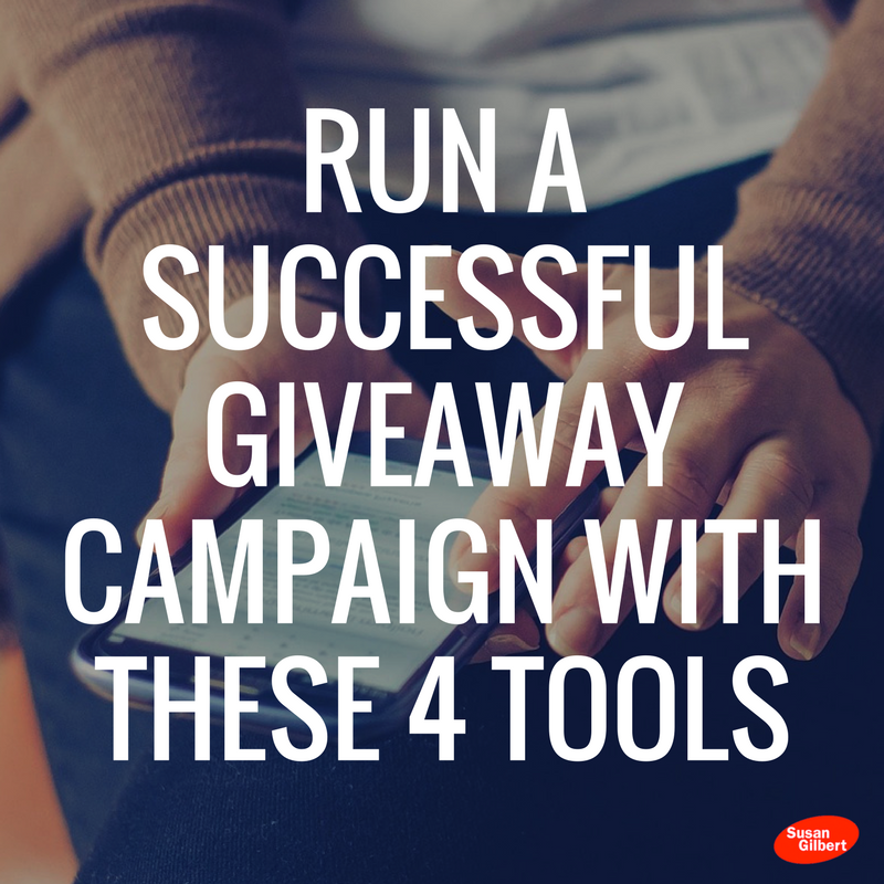 Run a Successful Giveaway Campaign with These 4 Tools